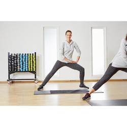 Toalla Gimnasio Cardio Fitness Domyos 90x50cm Rosa