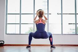 Figuurvormende fitnesstop Shape+ voor dames - 1099920