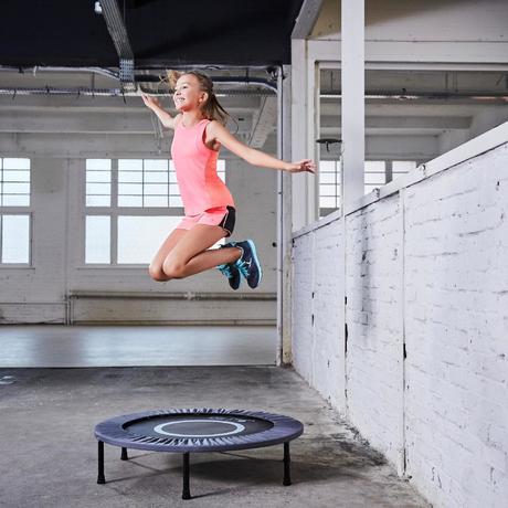 trampoline essential 100 domyos by decathlon. Black Bedroom Furniture Sets. Home Design Ideas