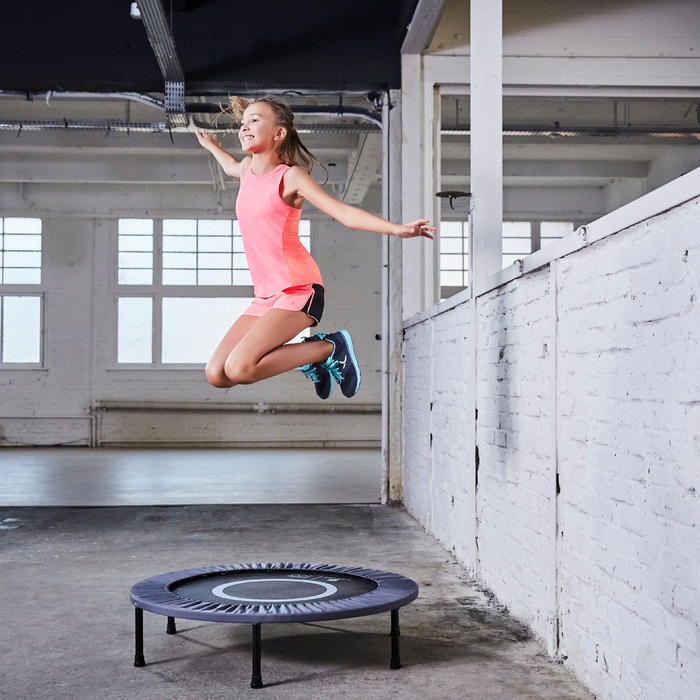 domyos trampoline essential 100 decathlon. Black Bedroom Furniture Sets. Home Design Ideas