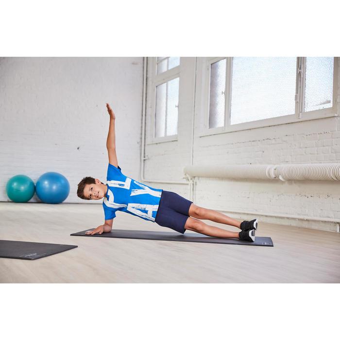 Sporthose kurz Gym Jungen grau