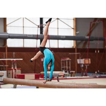 Justaucorps manches longues Gymnastique Féminine sequins - 1099931