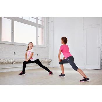 Gym kuitbroek voor meisjes, regular fit - 1099939