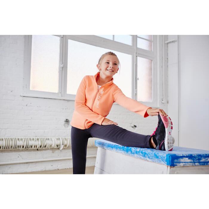 Survêtement chaud zippé imprimé Gym fille Warm'y Zip - 1099944