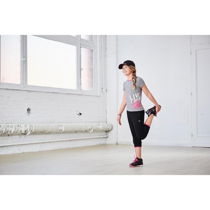 Gorra estampada de gimnasia niña rosa