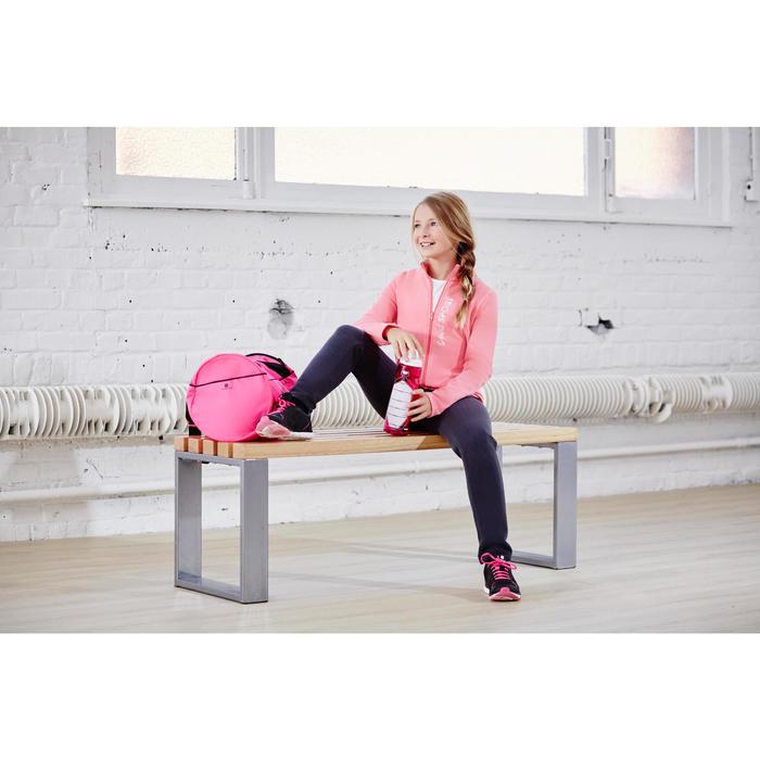 Chándal 120 gimnasia niña estampado rosa