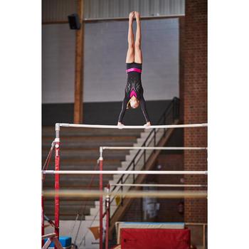 Justaucorps manches longues Gymnastique Féminine sequins - 1099952