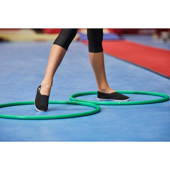 Zapatillas de gimnasia en el colegio niños blanco Rythm 300
