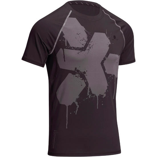 T-shirt Fitness Muscle voor heren - 1100005
