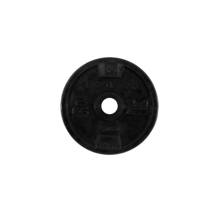 Disque caoutchouc de musculation 28 mm - 110073