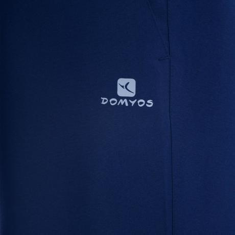 03cfe0cdceaa Abbigliamento uomo. › Pantaloni tuta uomo cardio fitness FPA100 blu.  Previous. Next