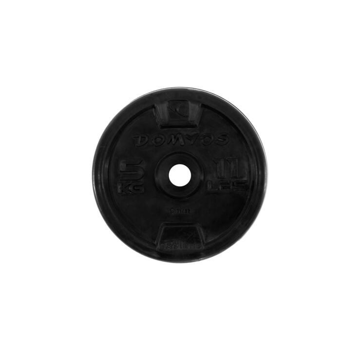 Disque caoutchouc de musculation 28 mm - 110076
