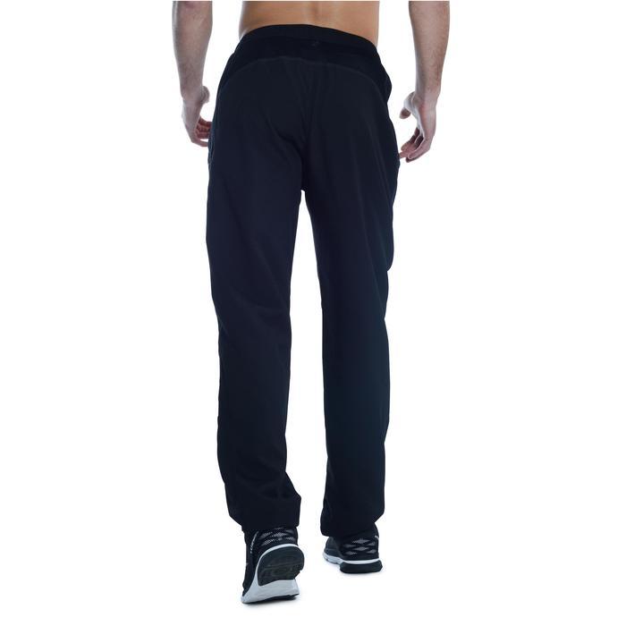 Pantalon fitness cardio homme noir FPA120