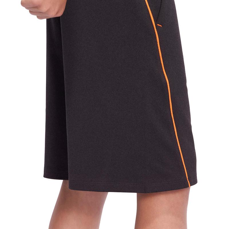 Short S900 Gym garçon gris orange