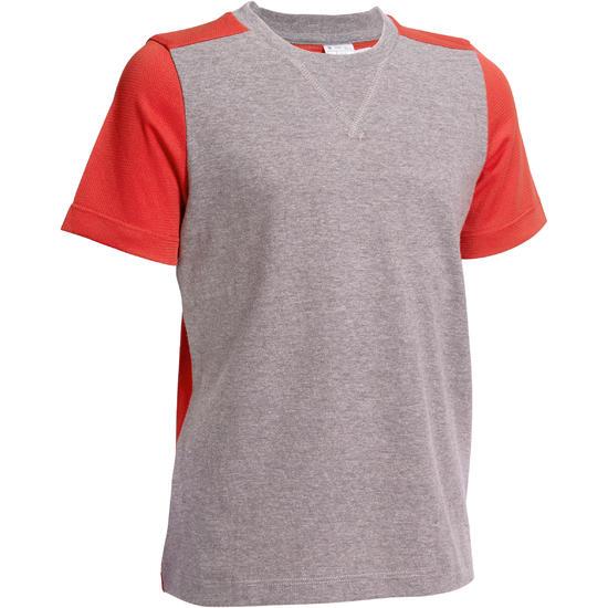 Jongens T-shirt met korte mouwen voor gym - 1101030
