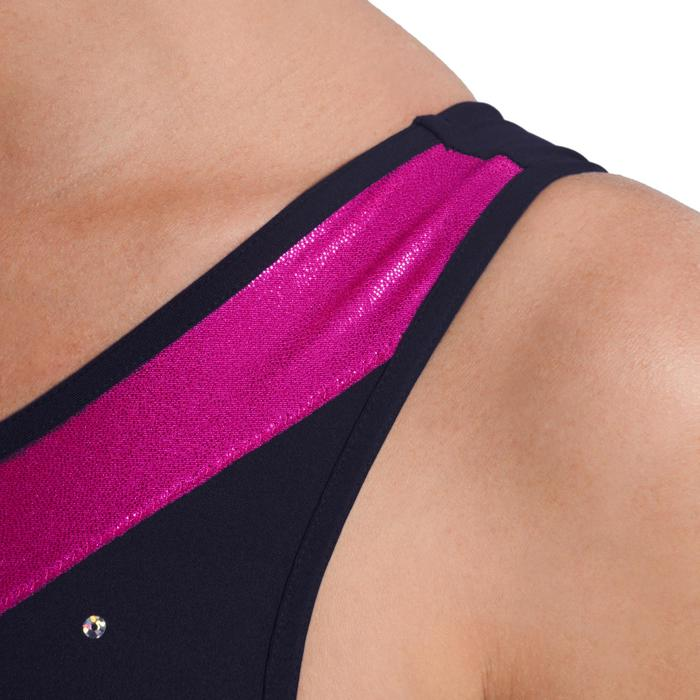 Justaucorps sans manches gym (GAF et GR) Sequins - 1101133