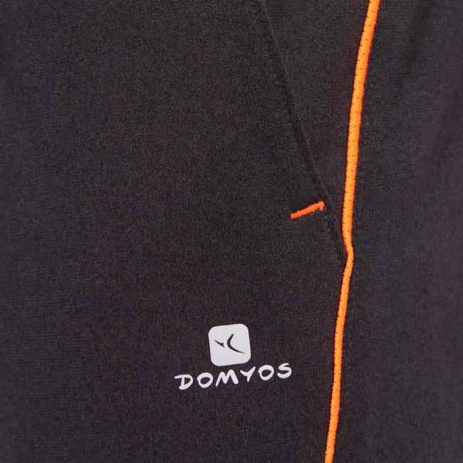 Boy's Gym Shorts 960- Grey Orange