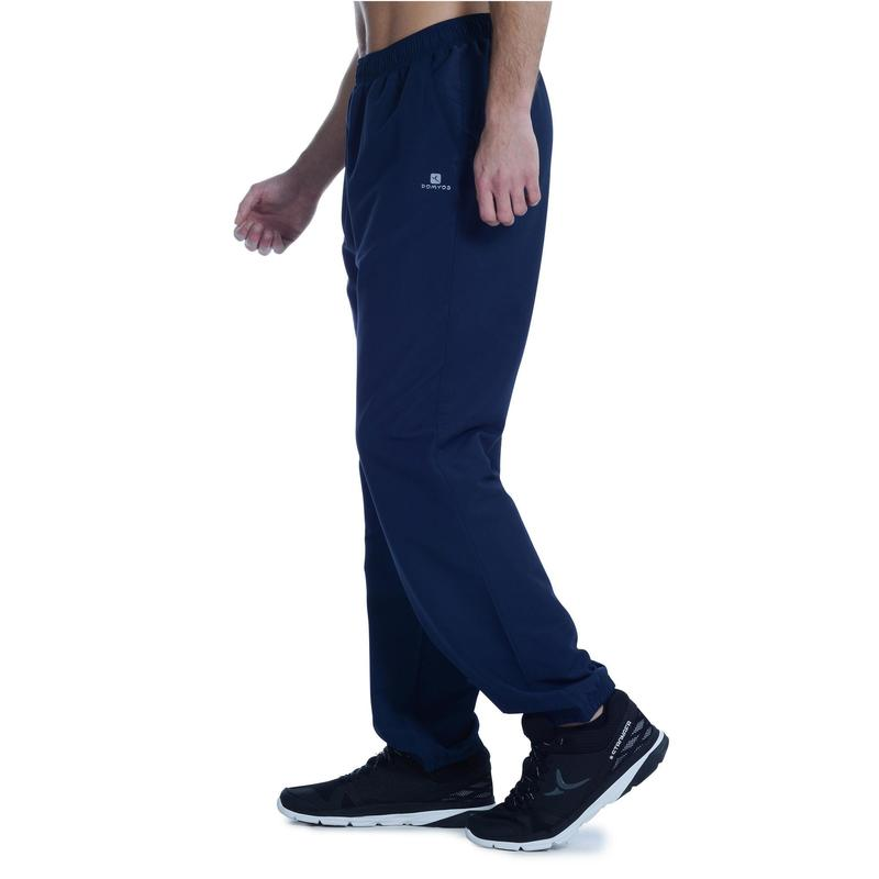 economico per lo sconto 4e1dd 6d0af Abbigliamento uomo - Pantaloni tuta uomo cardio fitness FPA100 blu