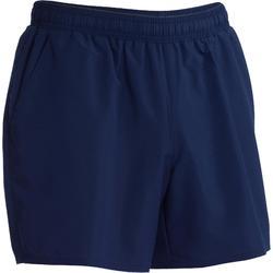 有氧健身短褲FST100-海軍藍