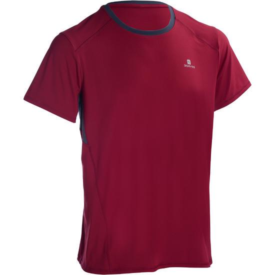 T-shirt fitness cardio heren geel met opdruk ENERGY - 1101300