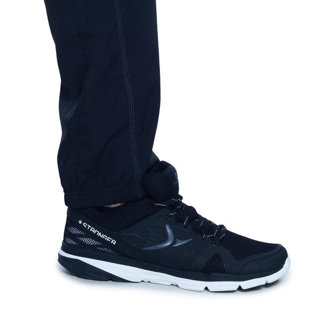Men's 2 Zip Pocket Quick Dry Fitness Pant - Black