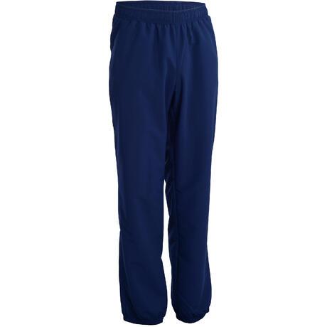 Pantalon survêtement fitness cardio homme bleu marine FPA100 ... 56dd8285f6d
