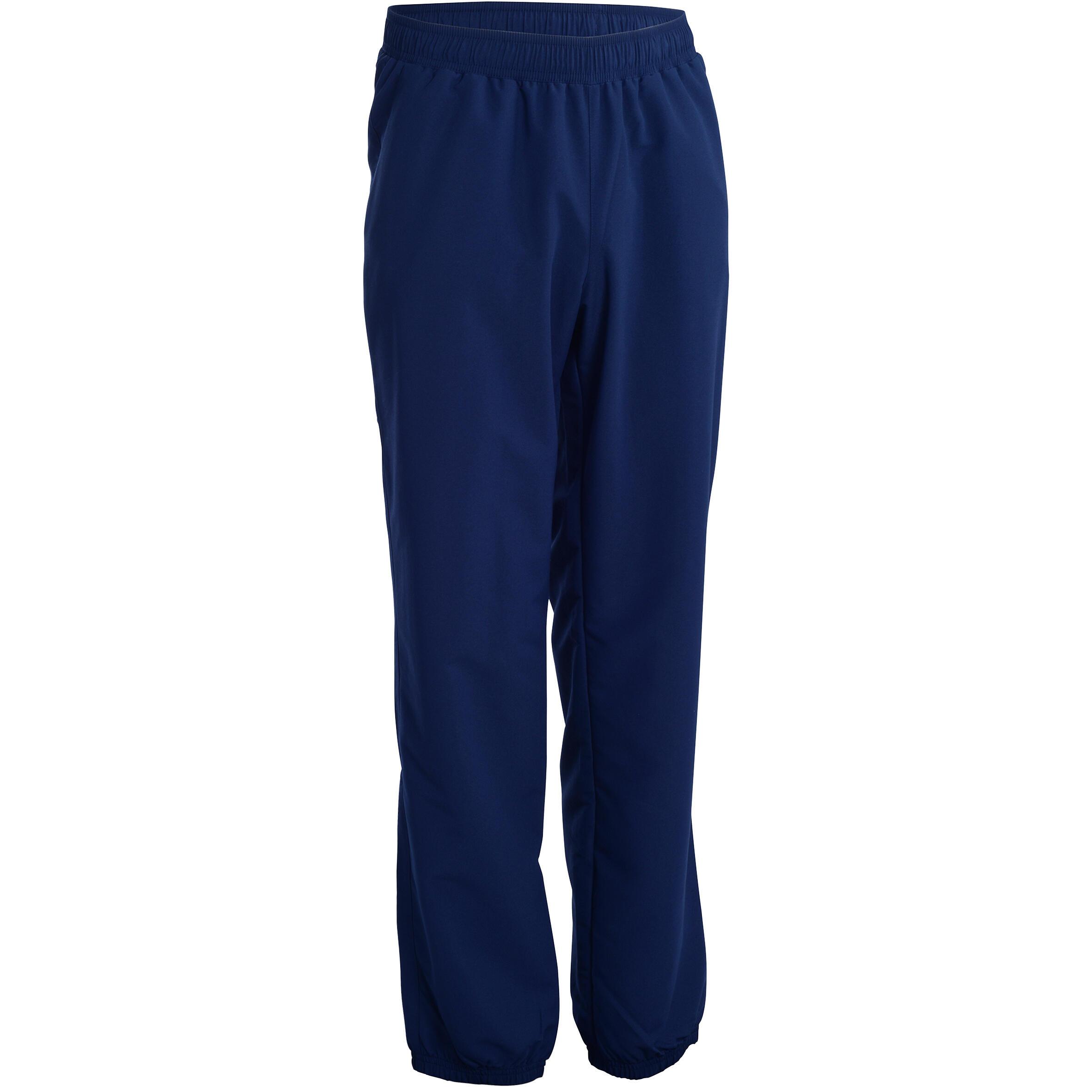 Pants de fitness cardio para hombre azul marino modelo fitness cardio FPA100