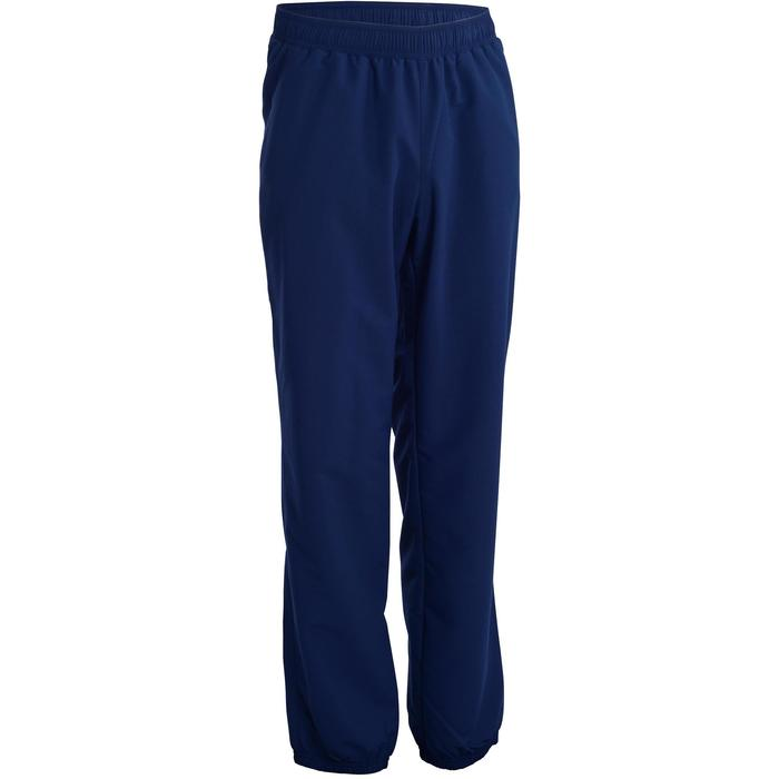 Pantalón Chándal Fitness Cardio Domyos FPA 100 hombre azul marino