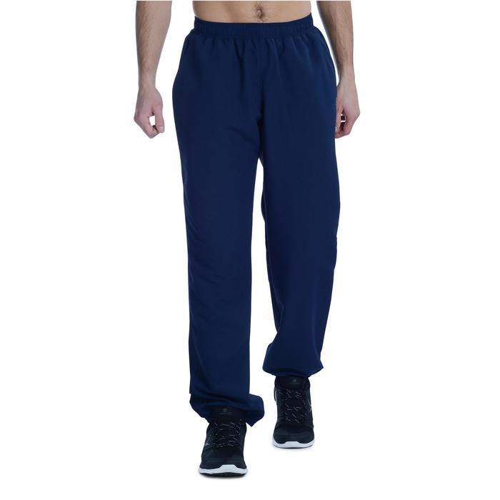 Pantalon survêtement fitness cardio homme bleu marine FPA100
