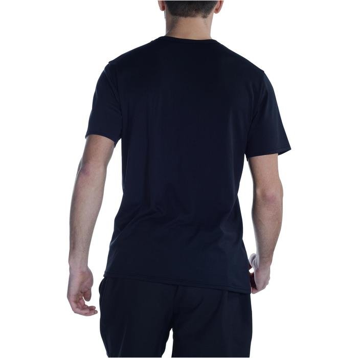 T-Shirt Energy Fitness Power Herren schwarz