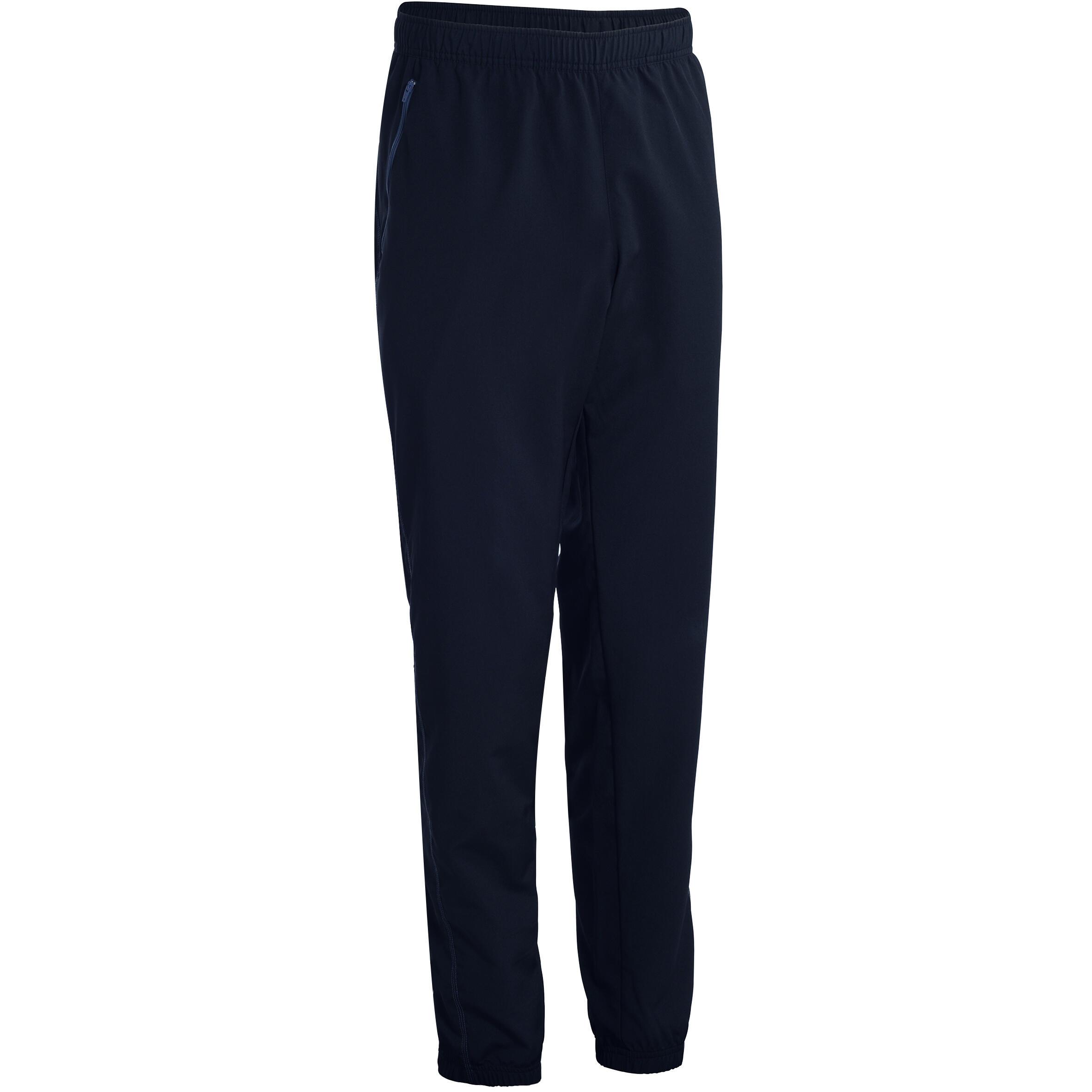 Domyos Fitness broek FPA120 voor heren, zwart