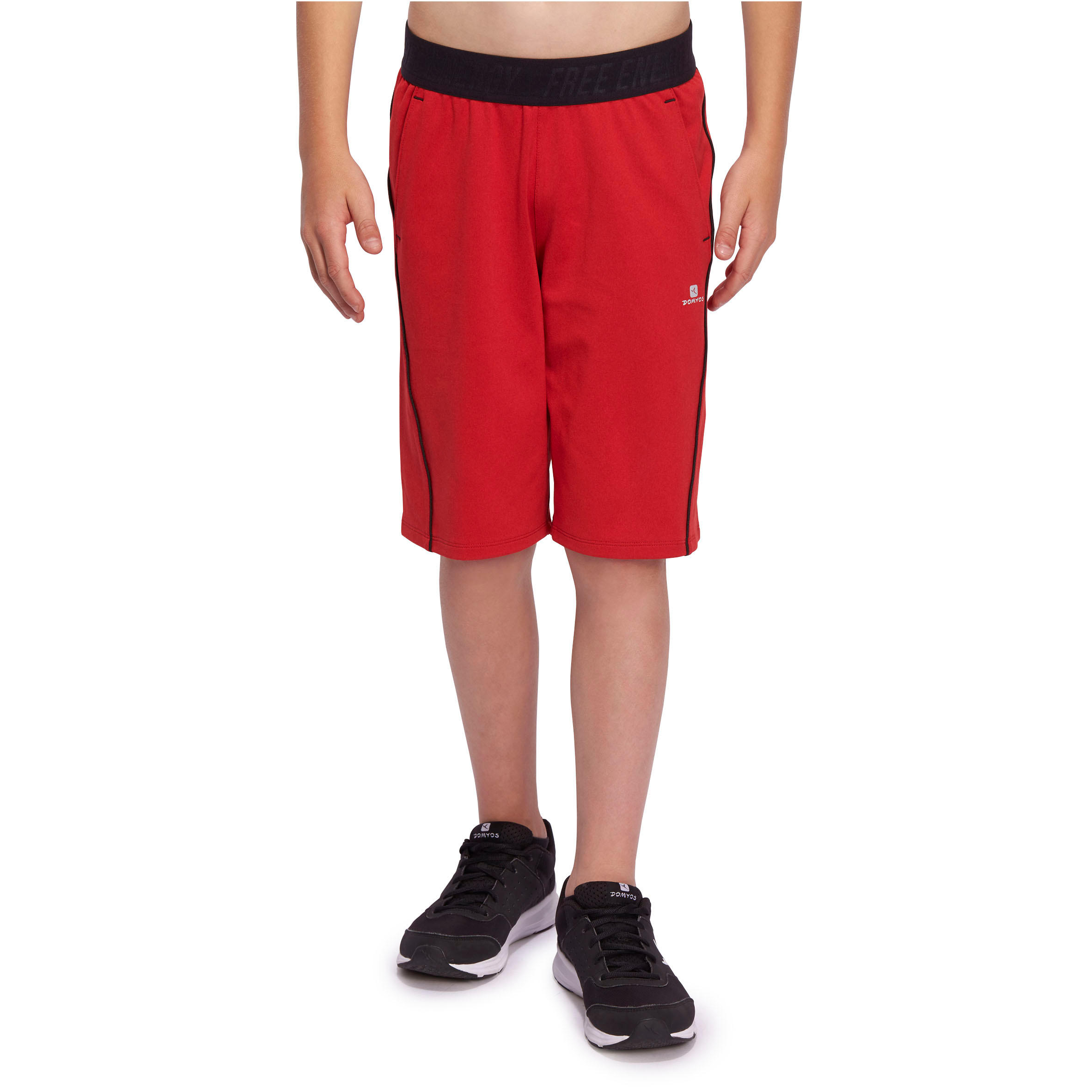 Energy Boys' Gym Shorts - Red