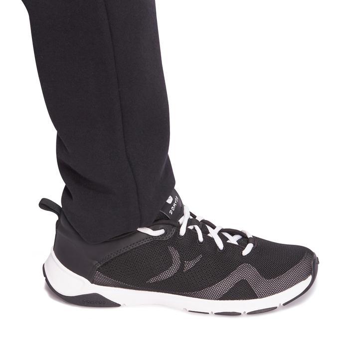 Jogginghose 100 Warm'y Gym Kinder schwarz