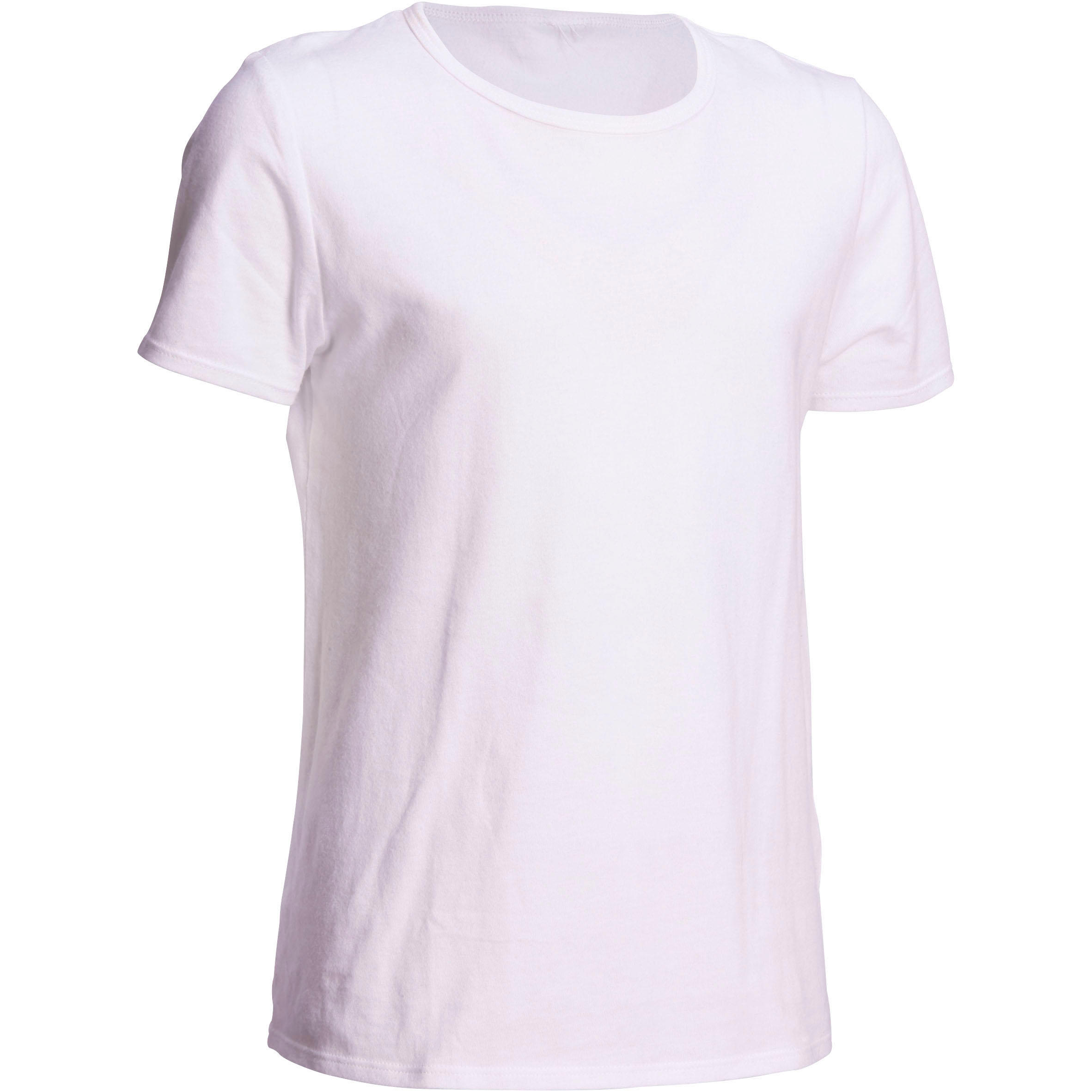 Boys' Short-Sleeved Gym T-Shirt - White