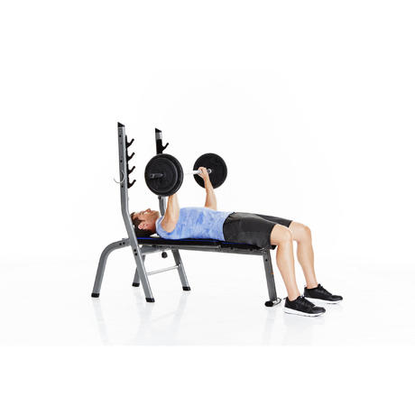 Banc de musculation 100 domyos by decathlon - Avis banc de musculation ...