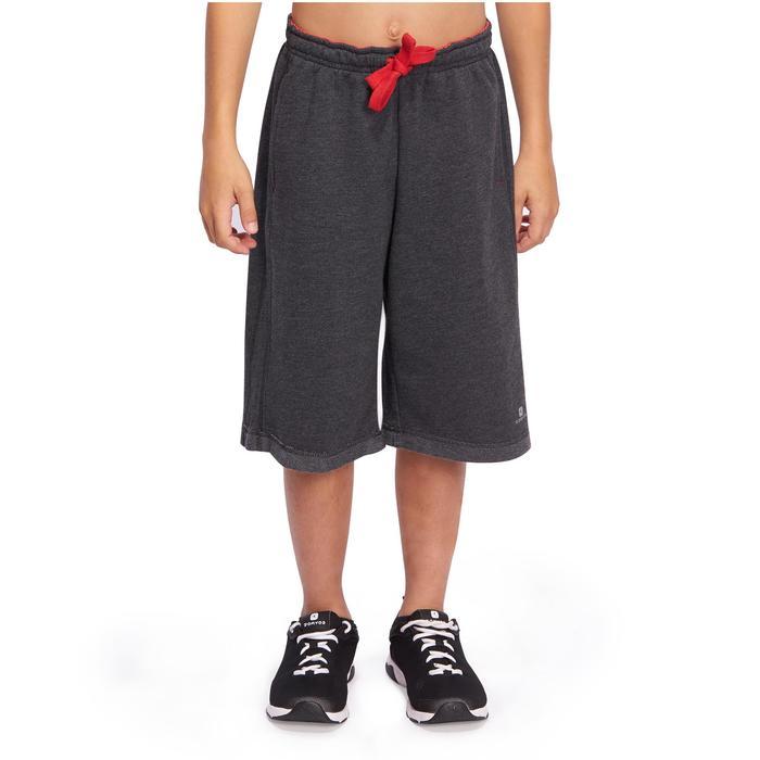 Short Gym garçon noir rouge