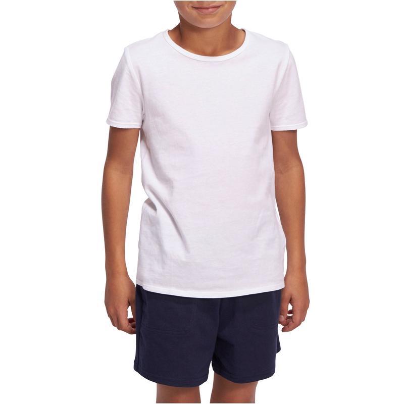 b020cb318f Camiseta Infantil Masculina de Ginástica Domyos