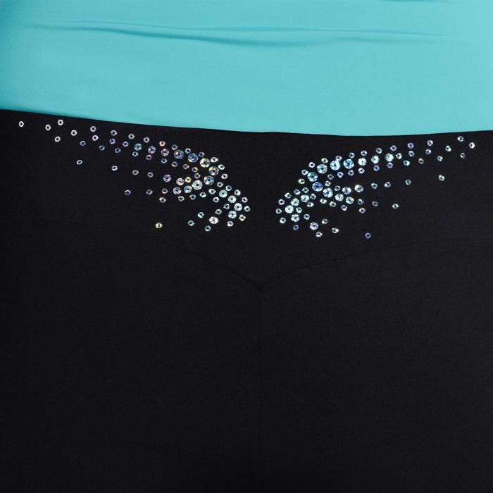 Shorty Gym (GAF et GR) noir sequins - 1101943