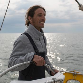 Polaire bateau homme RACE foncé - 110196
