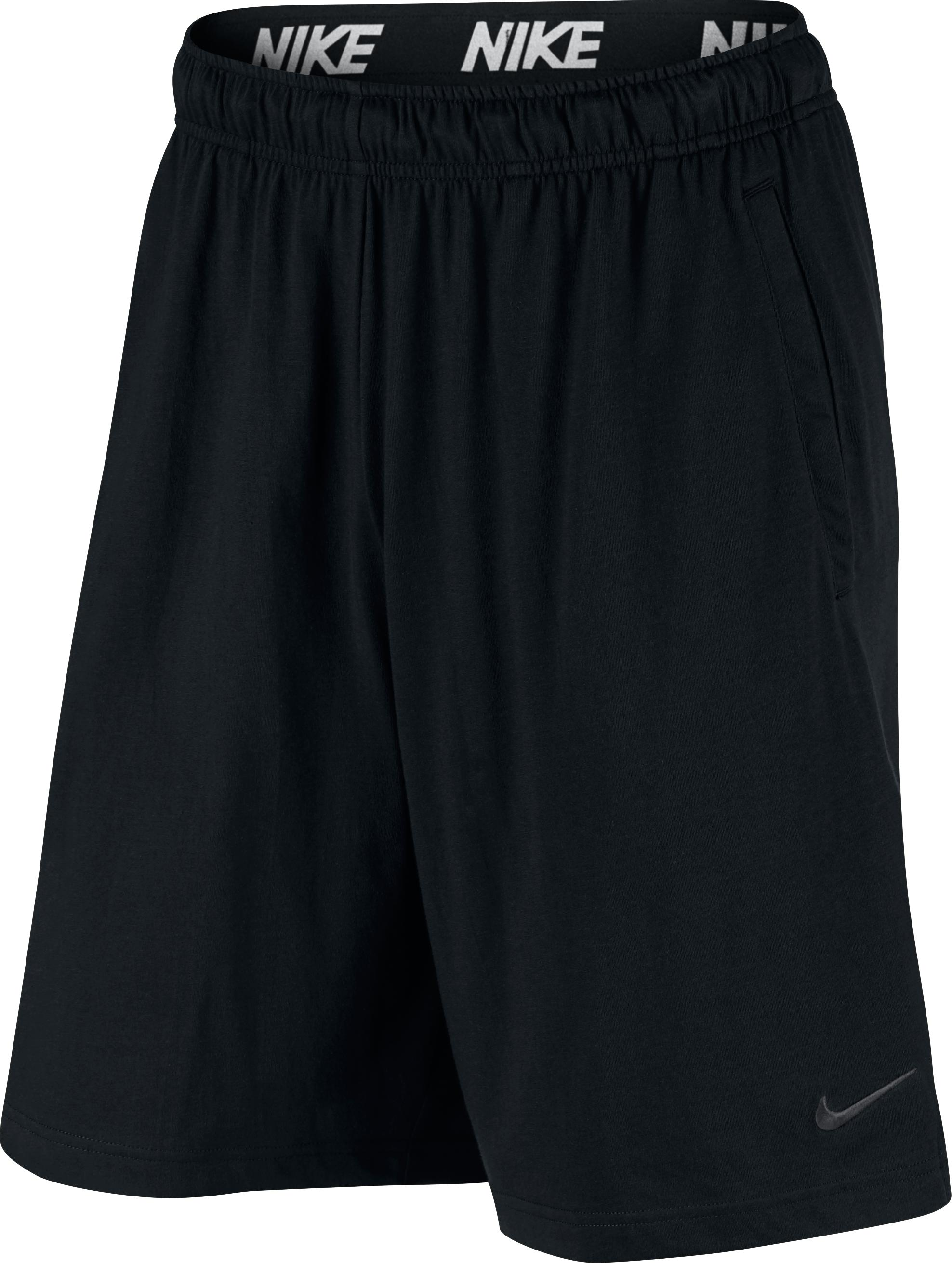 Fitnessshort voor heren, Dry Fit, zwart