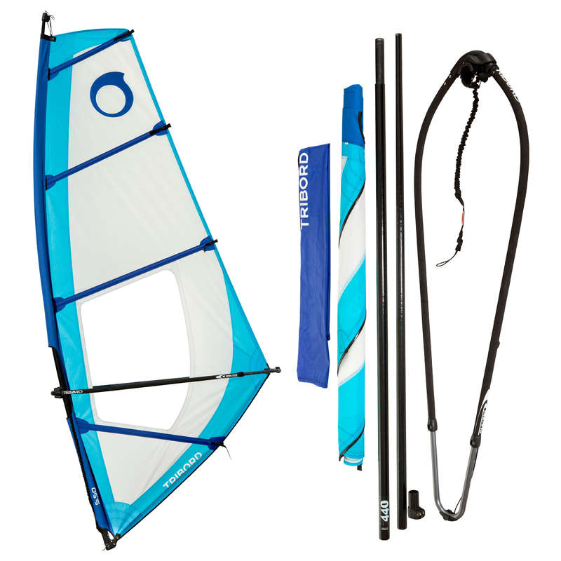 WINDSURF Kitesurfing and windsurfing - Adult Rig 5.5 m² TRIBORD - Kitesurfing and windsurfing