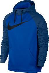 Fitnesshoodie voor heren blauw