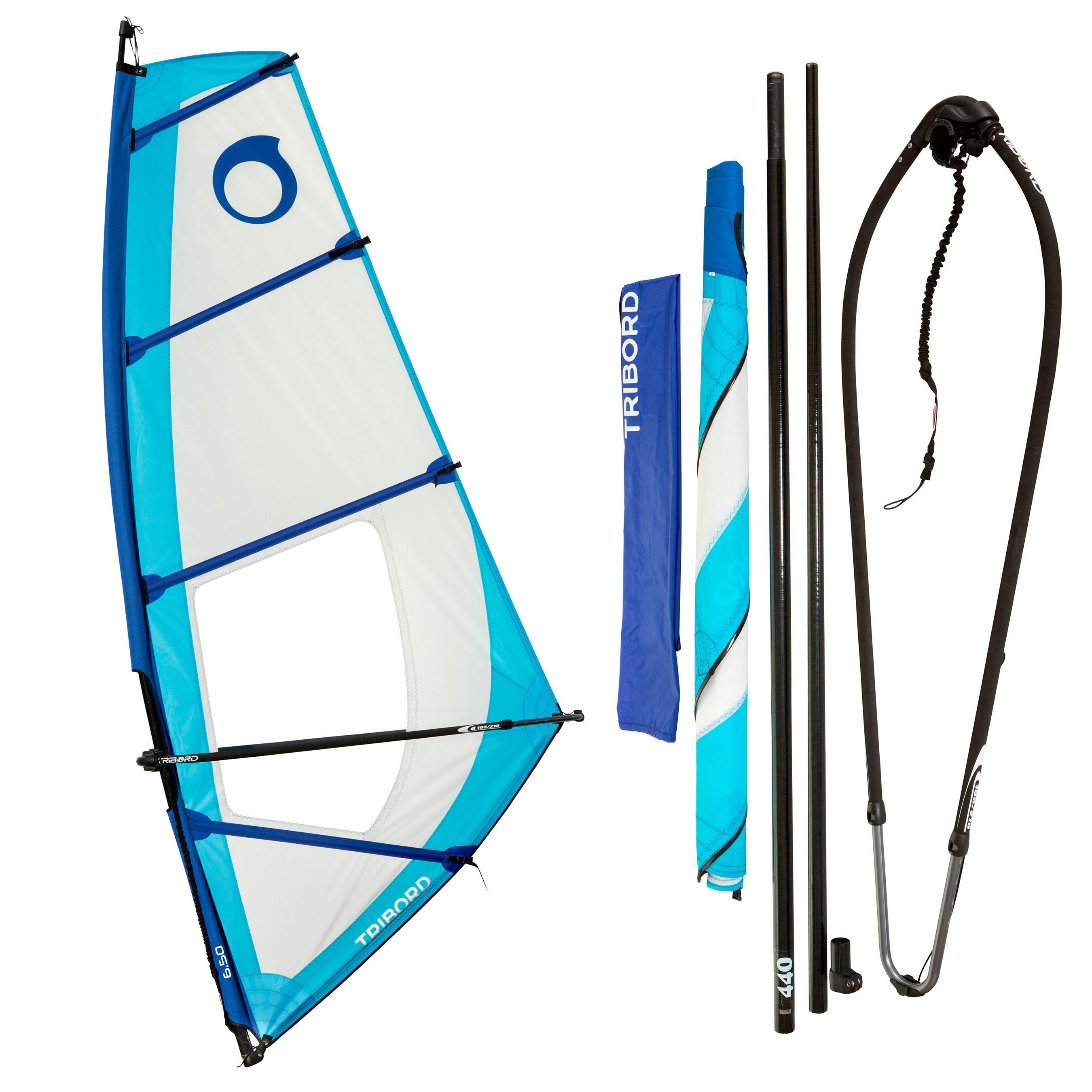 Tribord Windsurf tuigage 5,5 m� voor volwassenen