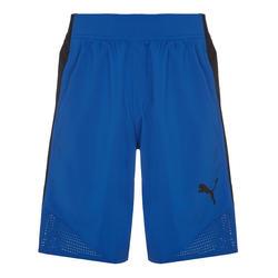 Fitness short voor heren blauw