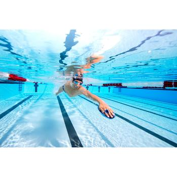 Gafas de natación SPIRIT Talla L negro gris espejo