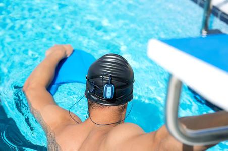 Reproductor MP3 impermeable de natación SwimMusic 100 azul