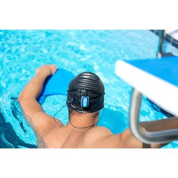 Set waterdichte oortjes voor mp3 Nabaiji blauw