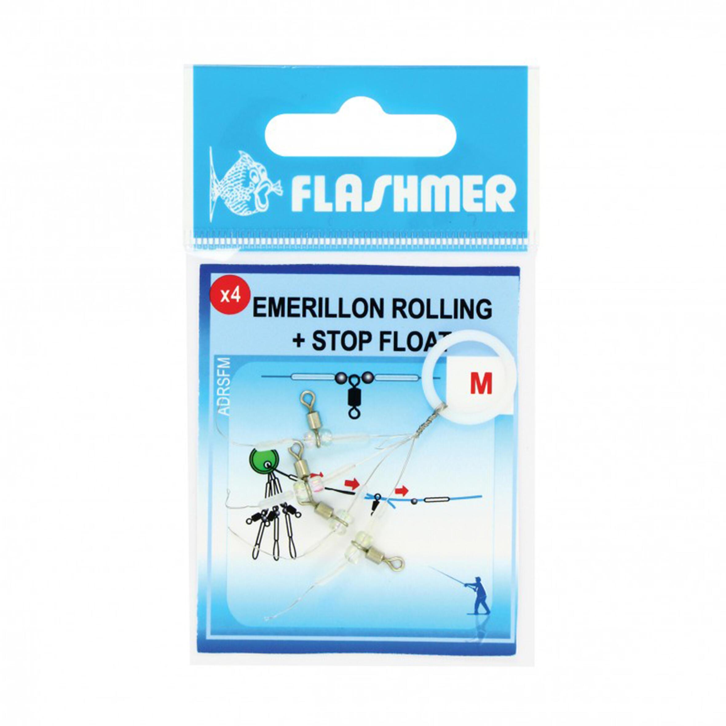 Flashmer Wartel Rolling Stop Float S voor zeehengelen