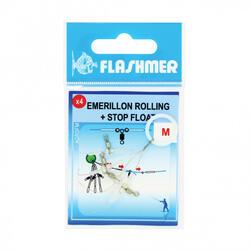 Wartel Rolling Stop Float S voor zeehengelen