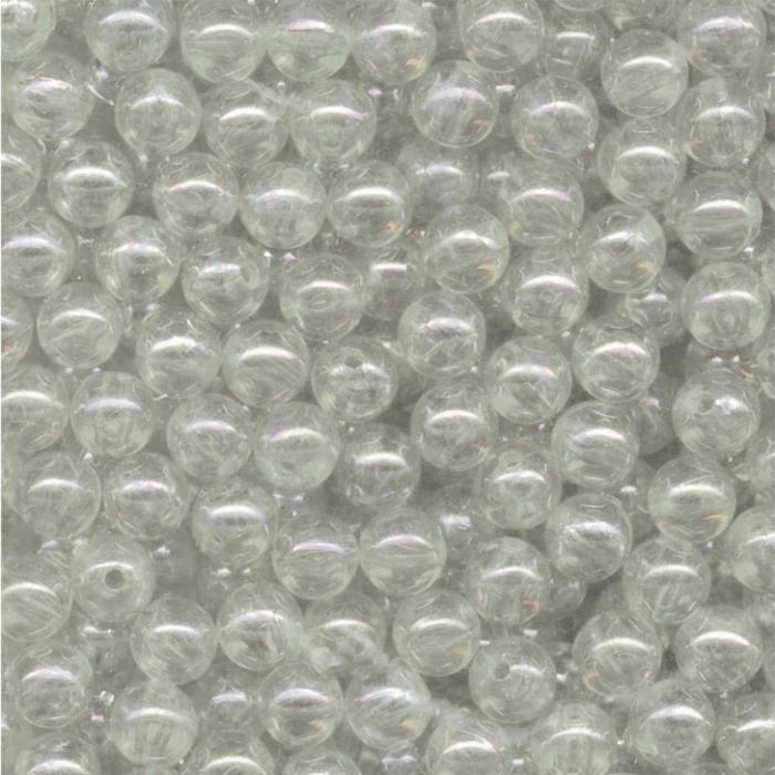 Hengelsport 200 witte microkralen 2 mm